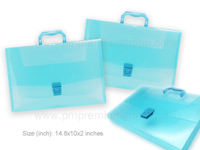 กระเป๋ากล่องพลาสติกสัมนา