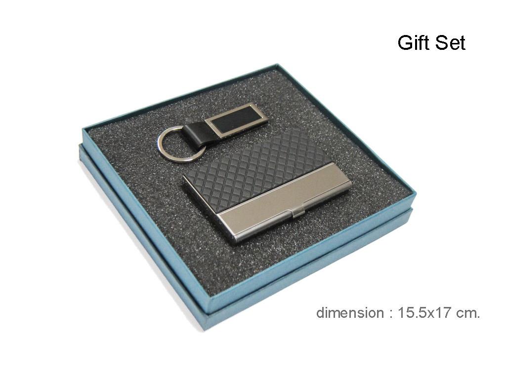 ชุดกิ๊ฟเซทกระเป๋านามบัตรพวงกุญแจ