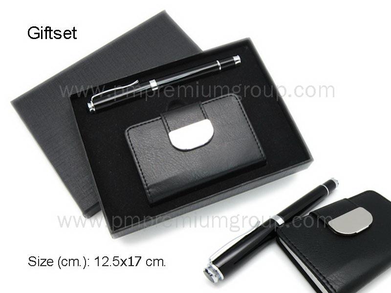 ชุดกิ๊ฟเซทกระเป๋านามบัตรปากกา
