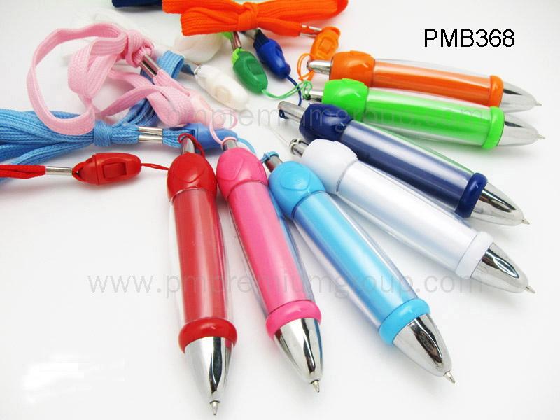 ปากกาลูกลื่นสายคล้องคอ PMB368
