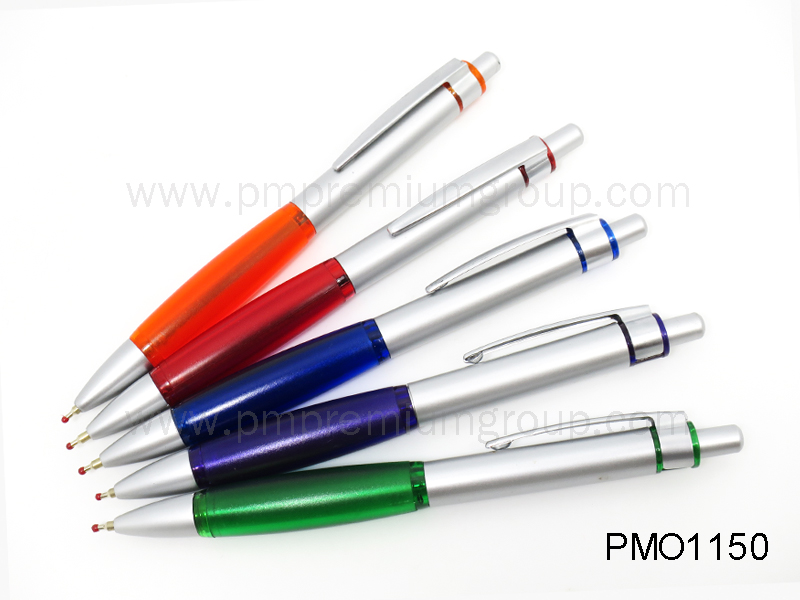 ปากกาลูกลื่นหมึกน้ำมัน PMO 1150