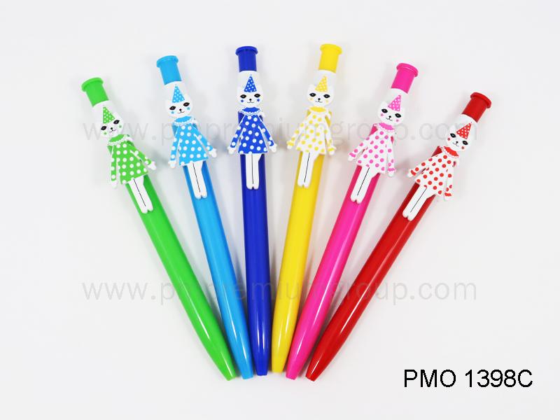 ปากกาลูกลื่นหมึกน้ำมัน PMO 1398C