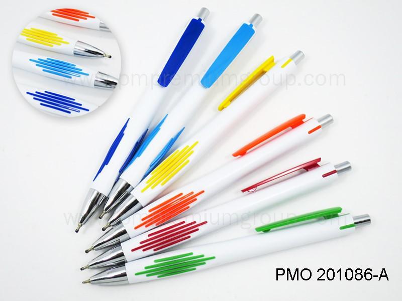 ปากกาลูกลื่นหมึกน้ำมัน PMO 201086A