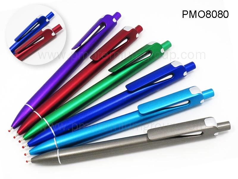 ปากกาลูกลื่นหมึกน้ำมัน PMO8080