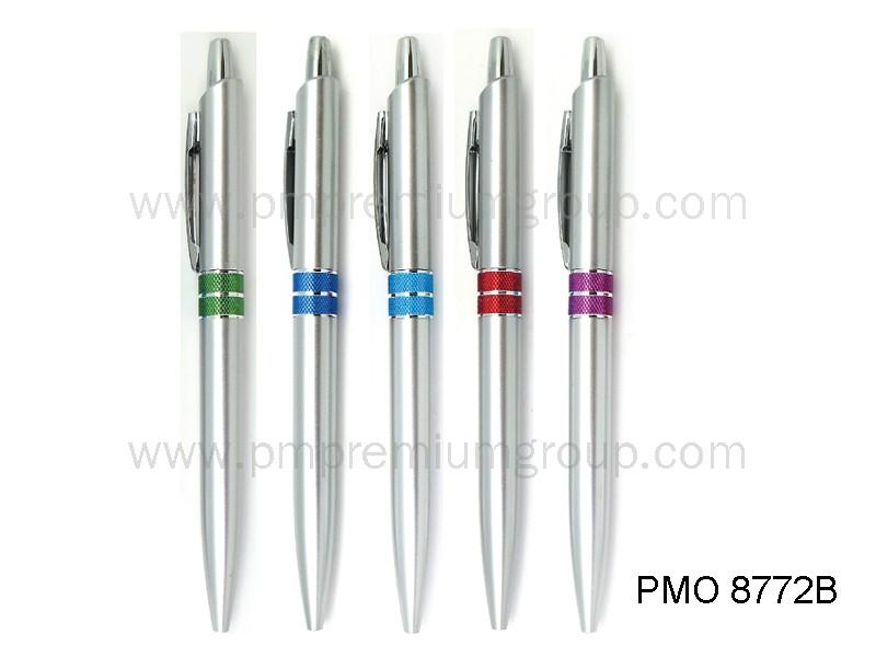 ปากกาลูกลื่นหมึกน้ำมัน PMO 8772B