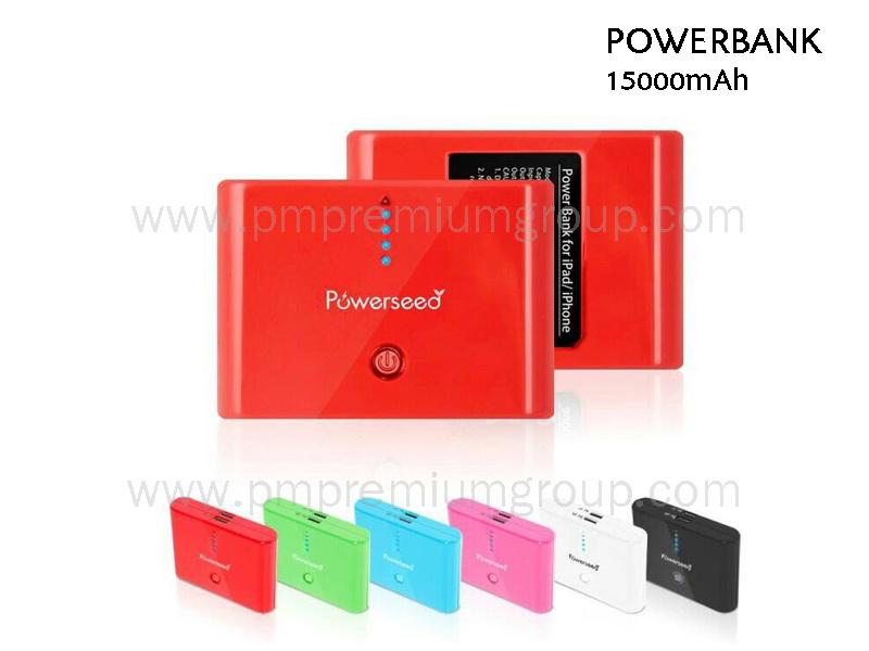 Powerbank 15,000 mAh