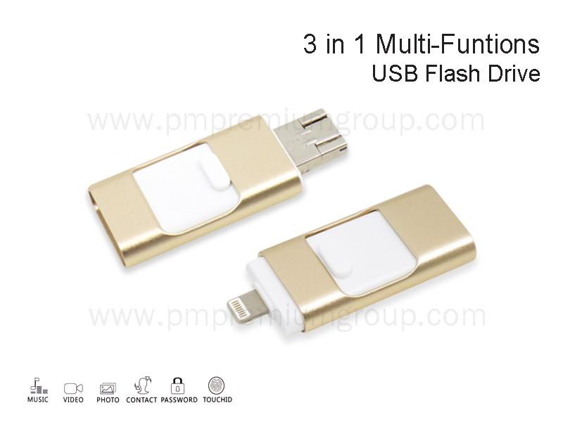 USB 3 IN 1 Multi-Functions